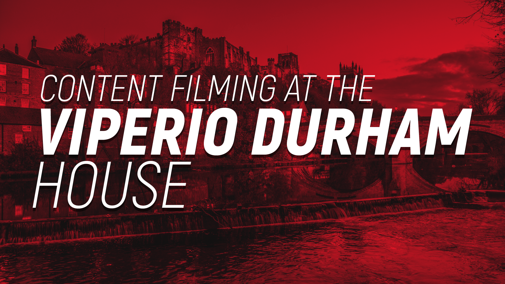 Viperio travel to Durham for content filming