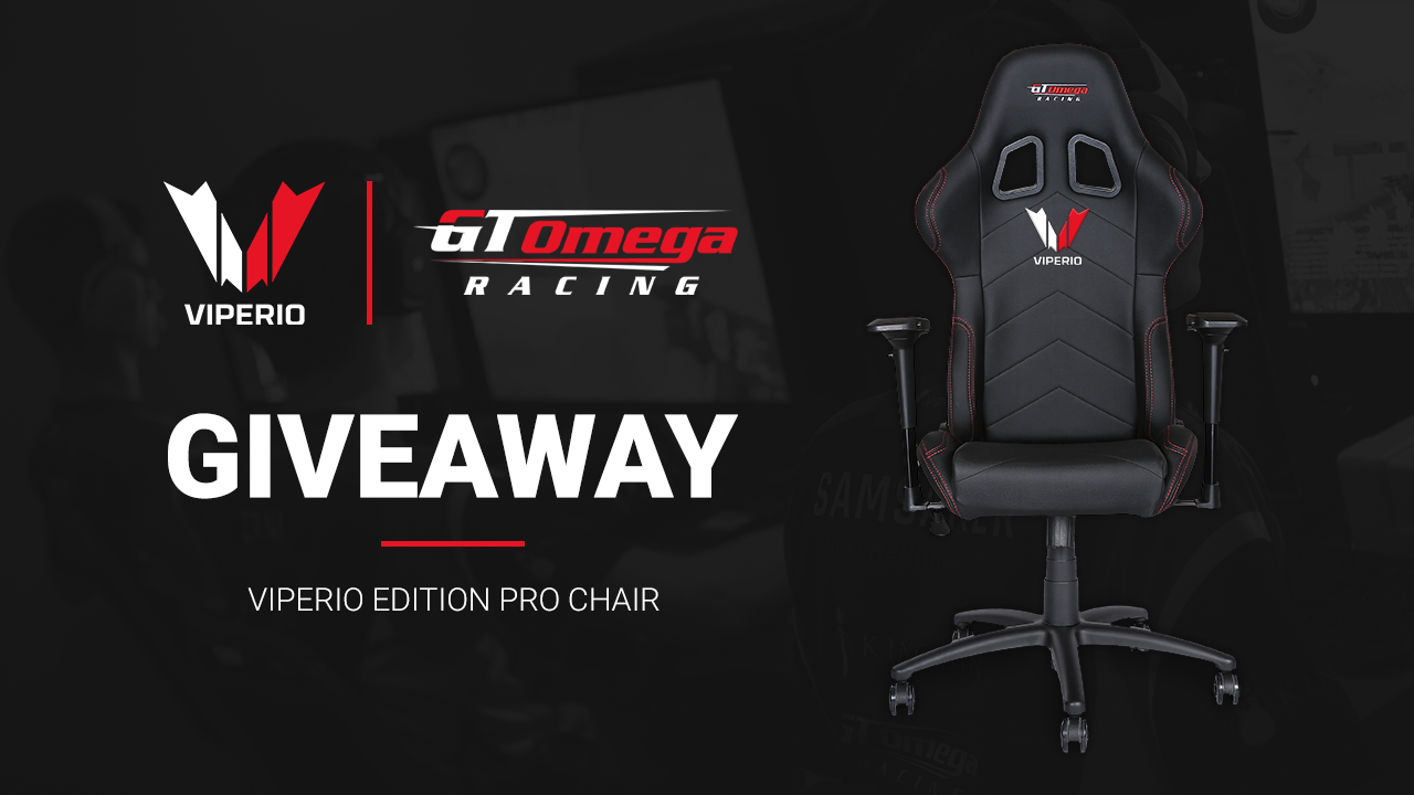 Giveaway: Viperio Edition GT Omega Racing Chair