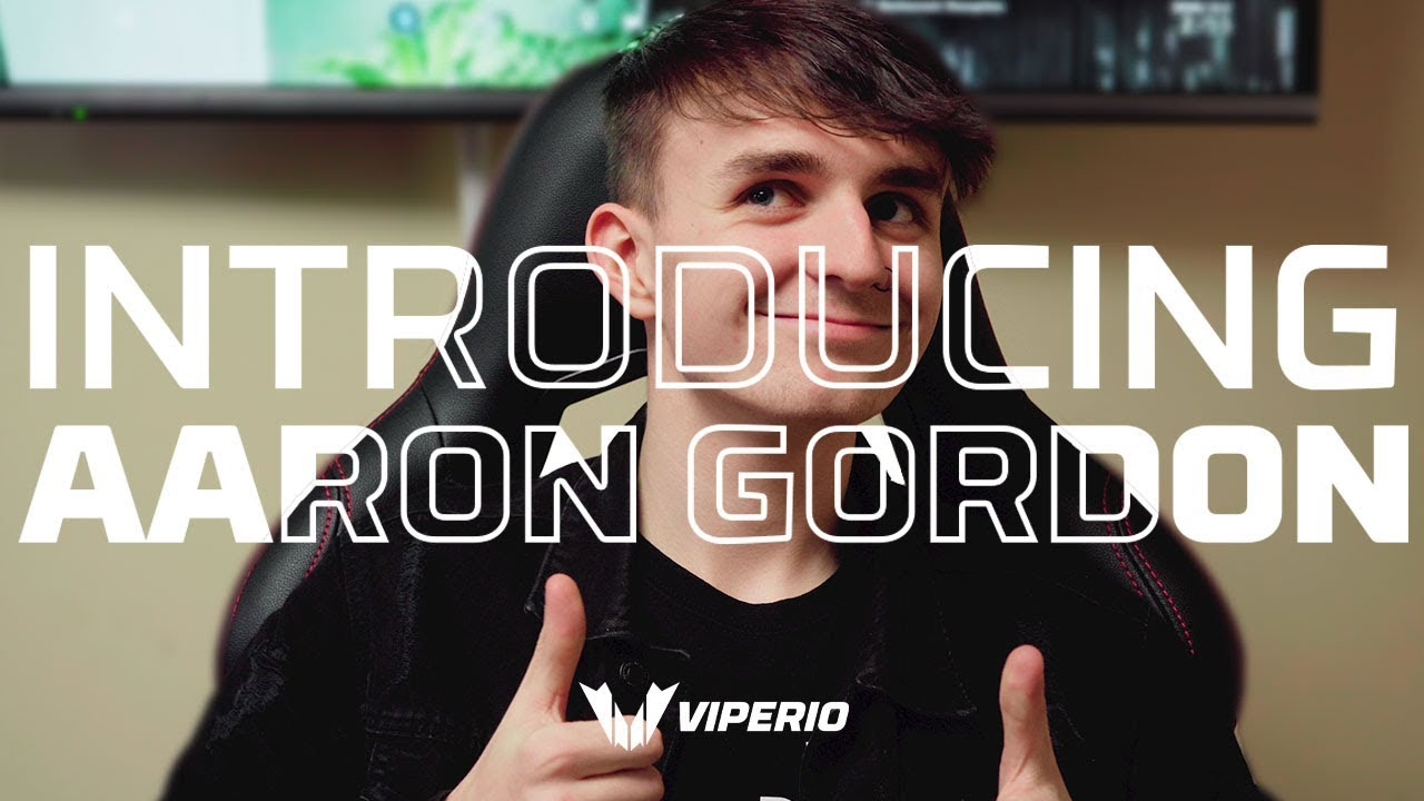 Introducing Aaron Gordon, Player for Viperio Rainbow Six Siege