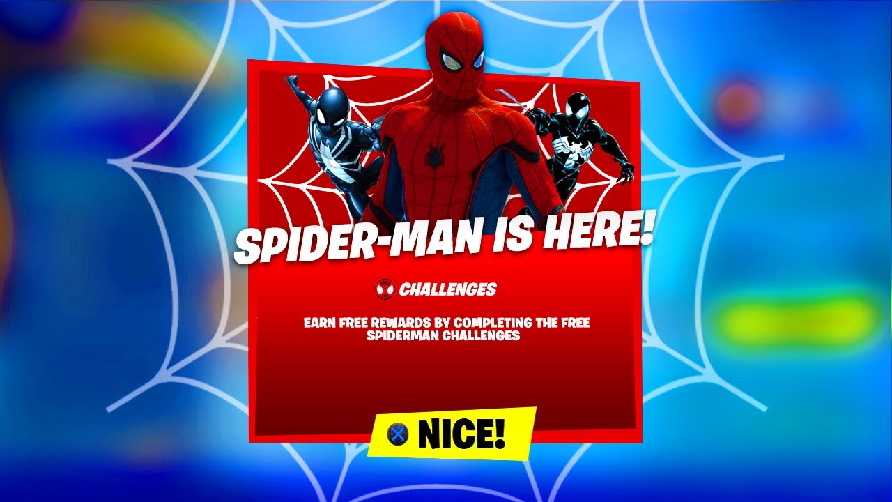Hybrid: Fortnite SPIDER-MAN Update