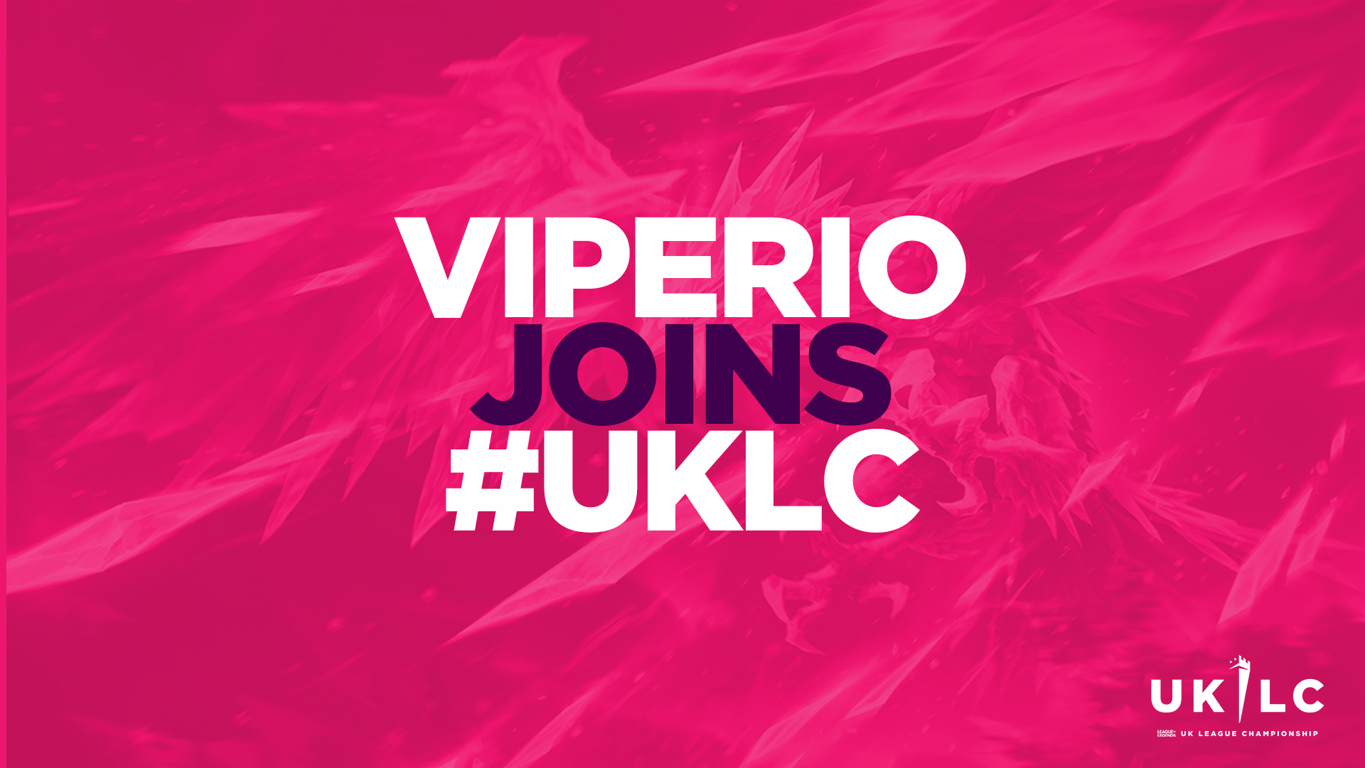 Viperio joins the UKLC for Summer 2021